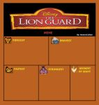 Lion Guard (blank meme) by HunterxColleen