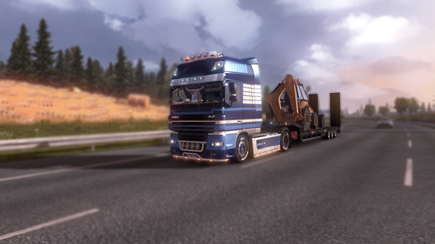 Wallpaper Euro Truck Simulator 2 by Sonicadventure1999