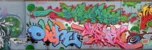 ENTIRE WALL by omerone