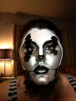 Static- SPG fanbot makeup by Izzileia