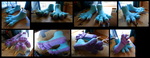 Icy Footpaws by CuriousCreatures
