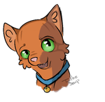 Rusty the fire cat by TurtlezSoup