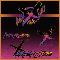 KnifeFight.Me Logo by zombie