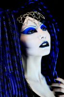 MISSynthetic Lady In Blue by MISSynthetic-Stock