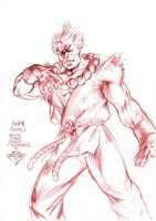 SF sketch: Akuma by MatiasSoto