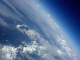 Clouds on Blue Planet by bosniak