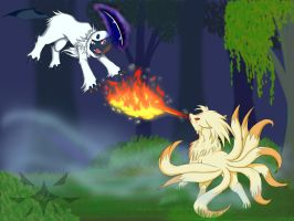 A wild Absol appeared! by StellarComet