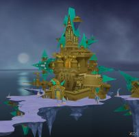 Castle Oblivion for XNALara by LexaKiness