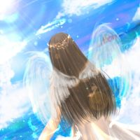 Original - Angel Wings by TashaChan