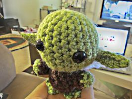 Yoda Amigurumi by wakeupatnoon