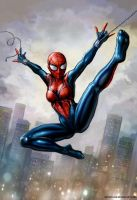 Hypercrazyamazing Spider-Girl by SirTiefling