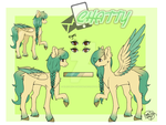 Chatty _Reference Sheet_ by SylnodelLight