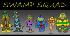 Swamp Squad by Lordwormm