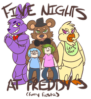 five nights at freddys furry fiesta by Cocktanite