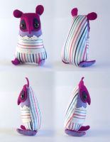 Petey Pantaloon - Art Doll by Hannakin