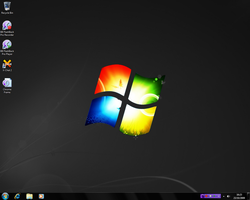 Windows 7 Black by SoftwareTutorial