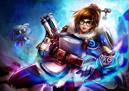MEI OVERWATCH by zeneria29