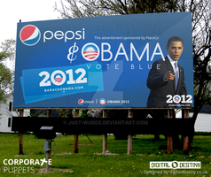 Corporate Puppets -  Obama by Just-Wordz