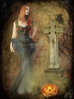 Happy Halloween Samhain  2008 by MADmoiselleMeli