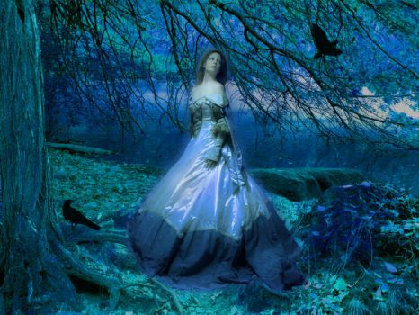 Princess of Blue Forest by xdnoin