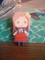 Young Hungary Papercraft by DuckHunter111
