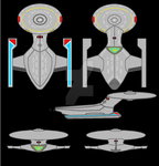 USS Enterprise F by Ashura01