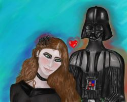 Star Wars - Vader and me! by EletricDaisy