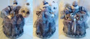 Ghostie Headless Antoinette OOAK Stump Doll by mihijime