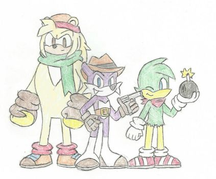 The Hooligans by SonicGal89