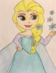 Little Kingdom Queen Elsa by Lea Voegeli by CaptainMockingjay