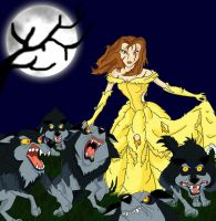 Belle, the wolf tamer by SuperSaiyanAna
