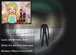 Me Playing Slenderman by BloomBrick101