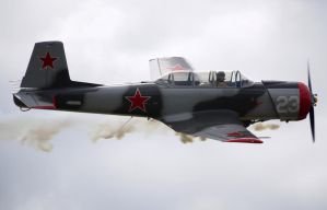 Natchang CJ-6 Flyby by shelbs2