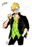 Sanji chapter 795 by Yuushishio