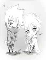 .:Kakashi And Anko : What:. by KickBass77