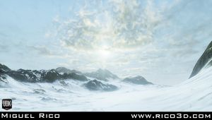 Snow Environment Wip 02 by AutopsySoldier