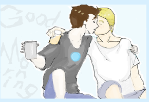 Steve/tony-Good Morning by platrypus
