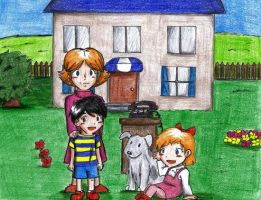Earthbound 100 Themes: Family by Magic-Cake-Woman