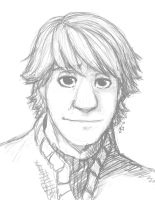 Kristoff Sketch by ShesscaMayWiver