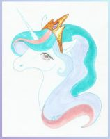 Princess Celestia by Haawan