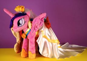 Princess Cadence Wedding by Eveningarwen