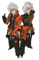 Ragna and The bloodedge by NRizo