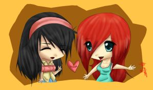 Request: milkberry-chocolate by XiaoChuu