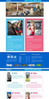 Fitness website by duduOmag