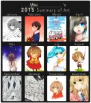 2015 Summary of Art by yuuh-chan
