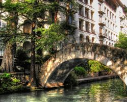 San Antonio Riverwalk by ellysdoghouse