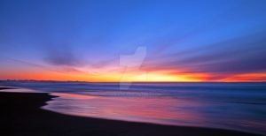 Sunset glow by Comane