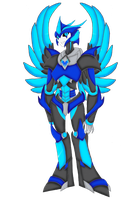 Predacon OC- Songbird Transformed by Crystal-Rosewing