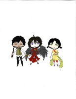 Euthanasia Chibis Set One by AnnaSassin