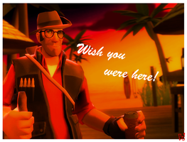 TF2 - Wish You Were Here by SuddenlyNixon